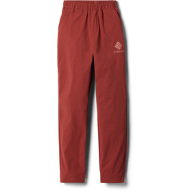Columbia Firwood Camp Pantaloni Bambino, dusty crimson